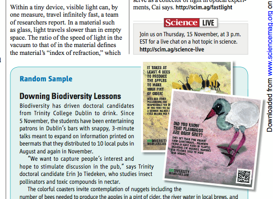 news page on biodiversity